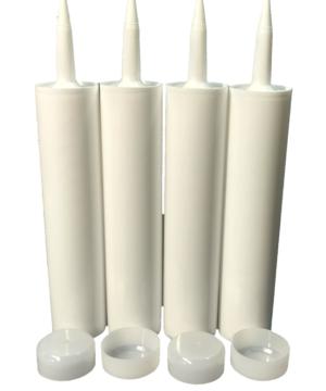 4 Empty Caulk Tubes, Fillable Sealant Caulking Tubes