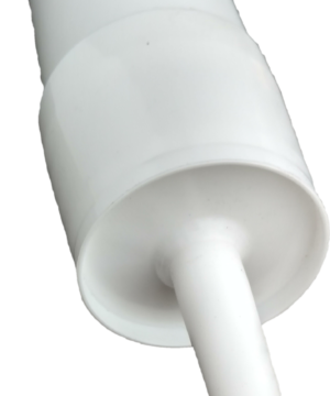 3 Reusable White Plastic Caulking Tubes (32oz / Quart Size) Single