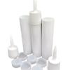 Reusable Empty Caulk Tube - REFILLABLE CAULKING Cartridge 10 oz. - 3 Pack - Made in USA